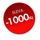 sleva - 1 000 Kč