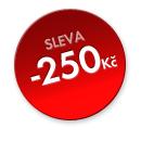 sleva - 250 Kč