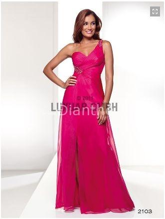 Na objednávku - společenské šaty z dianthe fuchsiová